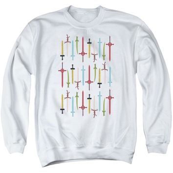 Adventure Time - Swords Adult Crewneck Sweatshirt Officially Licensed Apparel