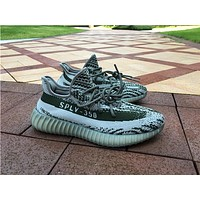 Adidas  yeezy 350 Boost v2  Luminous color Basketball Shoes 36-47