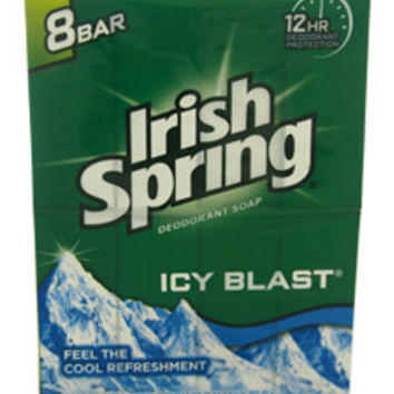 IcyBlast Cool Refreshment Deodorant Soap Soap Irish Spring