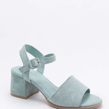 Mia Mint Stitched Heels - Urban Outfitters