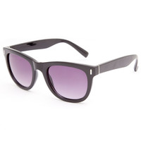 Full Tilt Oversized Classic Sunglasses Black One Size For Women 23767810001