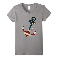 Anchor 4th of July t shirt