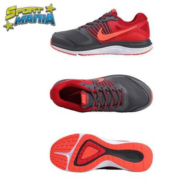 NIKE DUAL FUSION X1 Grey&Red Men Sport Running shoes