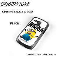 One In A Minion Despicable Me For Samsung Galaxy S3 Mini Case UY