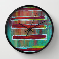 Sections Wall Clock by Sophia Buddenhagen