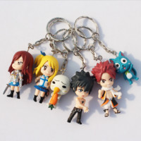 Fairy Tail keychain Figure Model
