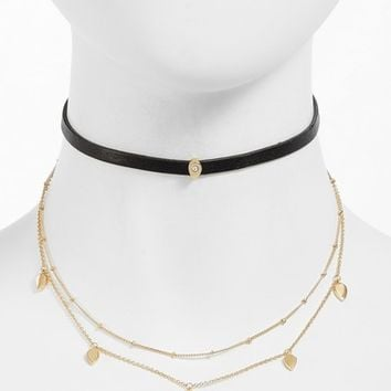 Jules Smith Theo Chain Layered Choker | Nordstrom