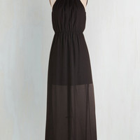 Boho Long Sleeveless Maxi Midnight Marvel Dress