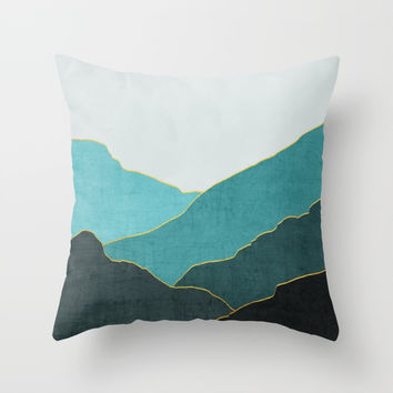 Minimal Landscape 04 Throw Pillow by marcogonzalez