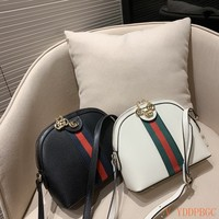 HCXX 19Oct 002 Gucci Print Shoulder Strap Crossbody Pouch Shell Clutch Fashion Ophidia Sling Bag 23-19cm