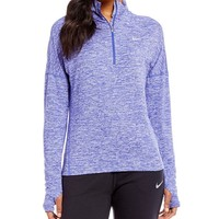 Nike Dry Element Half Zip Long Sleeve Top | Dillards