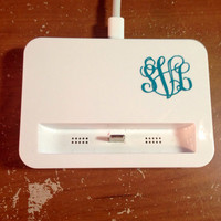 1 inch Monogram Sticker Vine Perfect for Anything