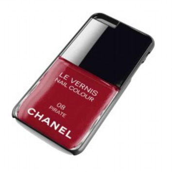 Pirate Red Nail Polish chanel Color for iphone 6 plus case