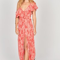 Women's Amuse Society Midnight Flower Maxi Dress