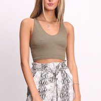 Free People Free Throw Crop
