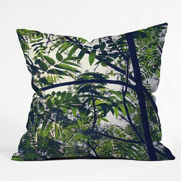 Chelsea Victoria Jungle Love Outdoor Throw Pillow