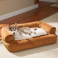 Drs. Foster & Smith Luxury Sleeper Dog Bed | Dog Beds at DrsFosterSmith.com