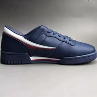 FILA Original Fitness new sneakers leather two-layer wear non-slip outsole casual sports shoes F-CSXY