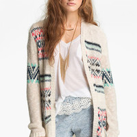 Rubbish® 'Blanket' Cardigan (Juniors) | Nordstrom