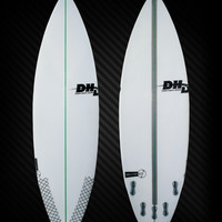 DHD Surfboards-Skeleton Key 5'10""