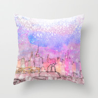 Socially Acceptable Insanity Throw Pillow by Anthony Londer | Society6