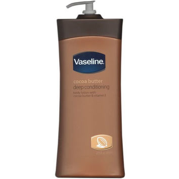 Vaseline Cocoa Butter Deep Conditioning Body Lotion, 20.3 Fl. Oz.