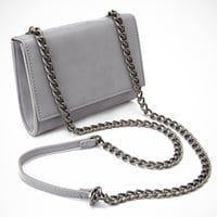 Faux Leather Crossbody