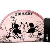 On10 SMACK Disney Minnie Mouse Cosmetic Bag Officially Licensed by Disney