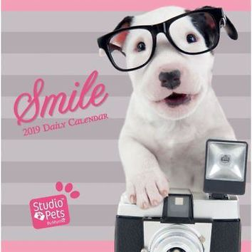 Studio Pets Puppies  Desk Calendar, Cute Puppies by Wells Street by LANG