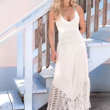 Romantic Maxi Beach Dress