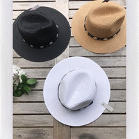 WESTERN STRAW HAT- MORE COLORS from shopoceansoul