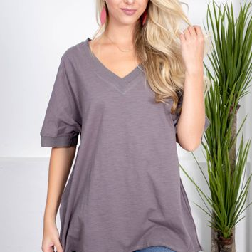 Port Cove Cotton Top | Midnight