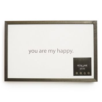 Petal Lane 'You Are My Happy' Magnet Board