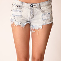 One Teaspoon Trashwhore cut off shorts is super