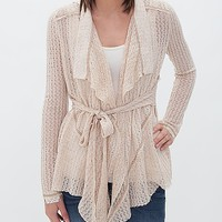 Nick & Mo Open Weave Cardigan