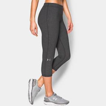 "Under Armour Women's UA Favorite Capris 19"" Ladies Favorite Capri Leggings"