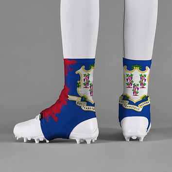 Connecticut State Flag Spats / Cleat Covers