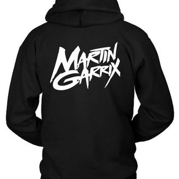 CREYH9S Martin Garrix Title Logo Classic Hoodie Two Sided