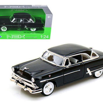 1953 Ford Victoria Black 1-24 Diecast Car Model by Welly