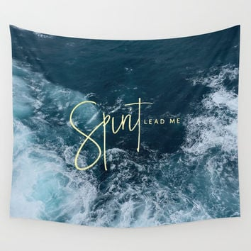 Spirit Lead Me Wall Tapestry by Pocket Fuel