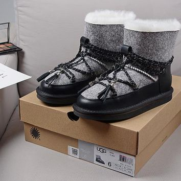 Women's UGG snow boots warm cotton shoes _1686248855-356