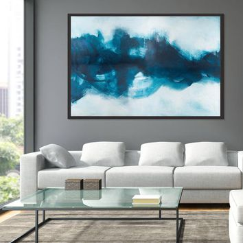 wall art prints, Modern Minimalist, Contemporary Print, Black and White Abstract, Brush Stroke Print, Abstract Wall Art by Camilo Mattis