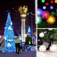 4.8 m 20 LED solar spherical outdoor light wedding festive lights string Christmas 2016 fashion new style