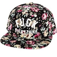 Fuck Everything Classic Floral Hat