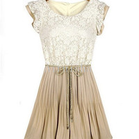 Western women's dress 2013 summer new style large size lace chiffon dress