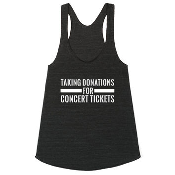 Taking Donations for Concert Tickets