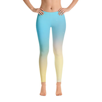 Mystery Universe Leggings for Women - Stylish Durable Novelty Leggings - Cut, Sewn, and Printed in California