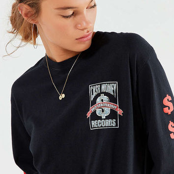 Cash Money Records Long Sleeve Tee | Urban Outfitters