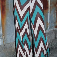 Bangles Boutique — Jade/Brown/Cream Yoga/Palazzo Pants
