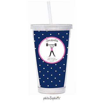 Life's a workout - Lift Water Tumbler